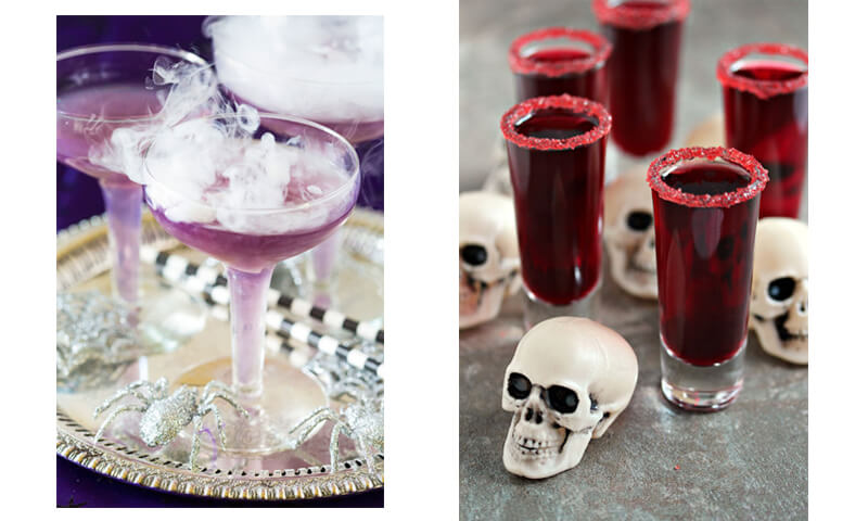 Drink Up! Witches Brew and Blood Shots
